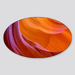 ANTELOPE CANYON 2 Sticker (Oval)