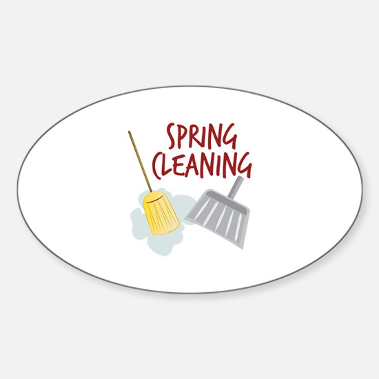 Spring Cleaning Decal