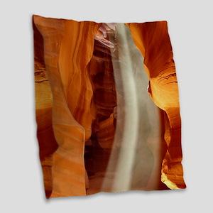 ANTELOPE CANYON 1 Burlap Throw Pillow