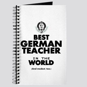 Best German Teacher in the World Journal