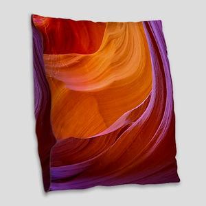 ANTELOPE CANYON 2M Burlap Throw Pillow