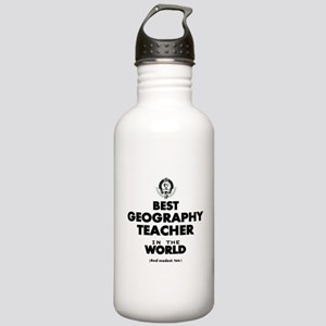Best Geography Teacher Stainless Water Bottle 1.0L