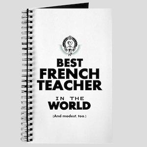 Best French Teacher in the World Journal