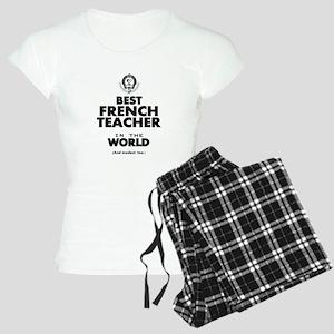 Best French Teacher in the Women's Light Pajamas