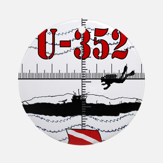U-352 new temp07.png Round Ornament
