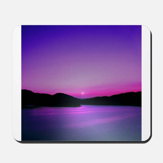 Moonrise Sunset Mousepad