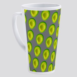 Chic Avocados 4Gillian 17 oz Latte Mug