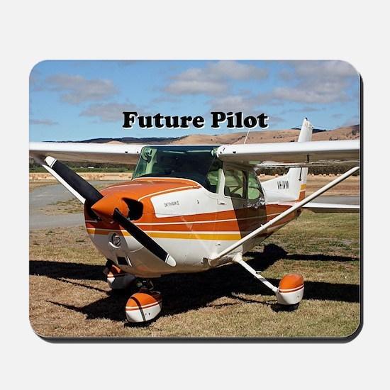 Future Pilot high wing aircraft Mousepad