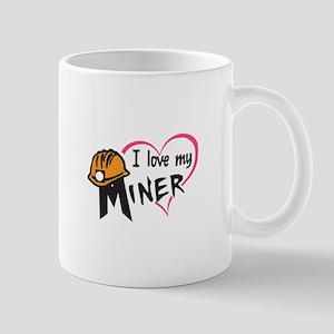 LOVE MY MINER Mugs