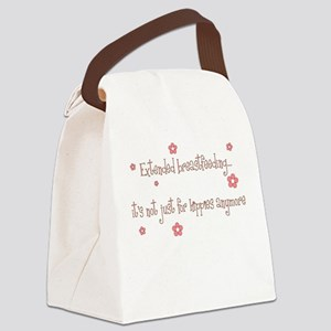 extBFgirly Canvas Lunch Bag