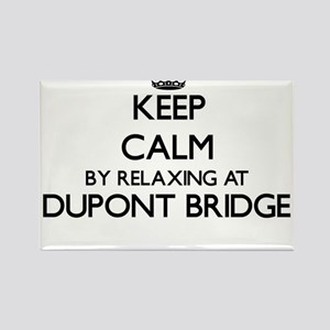 Keep calm by relaxing at Dupont Bridge Flo Magnets