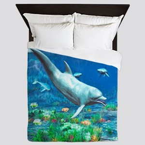 Underwater World 2 Queen Duvet