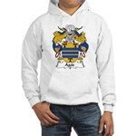 Agos Family Crest Hooded Sweatshirt