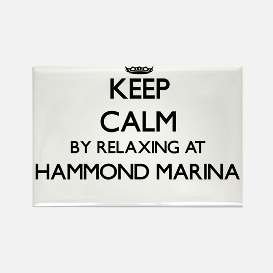 Keep calm by relaxing at Hammond Marina In Magnets