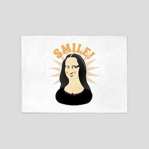 Smile 5'x7'Area Rug