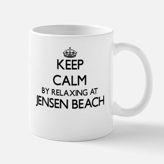 Keep calm by relaxing at Jensen Beach Florida Mugs