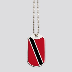 Trinidad Tobago Flag Dog Tags