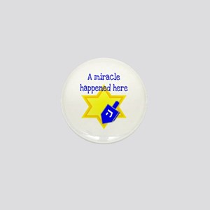 A Miracle Happened Here Mini Button