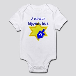 A Miracle Happened Here Infant Bodysuit