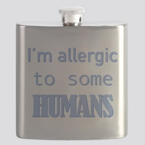 I'm Allergic to Some Humans Flask