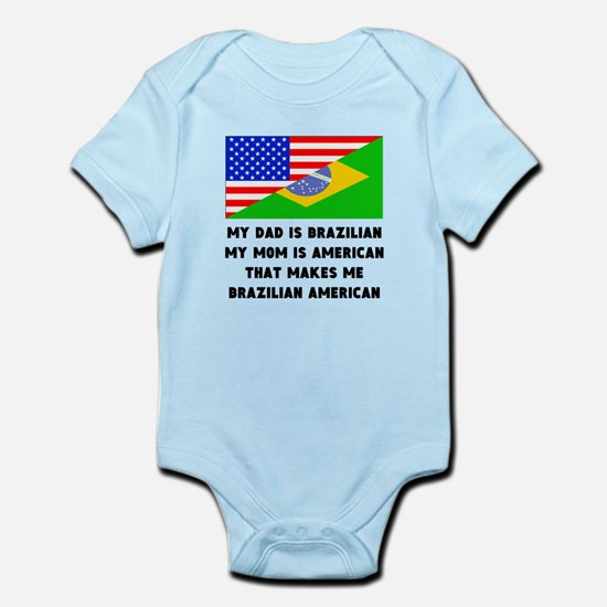That Makes Me Brazilian American Body Suit