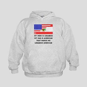 That Makes Me Lebanese American Hoodie