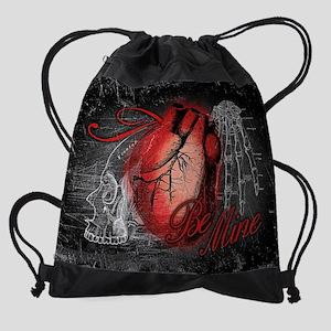 GOTH-BE-MINE_13-5X18 Drawstring Bag