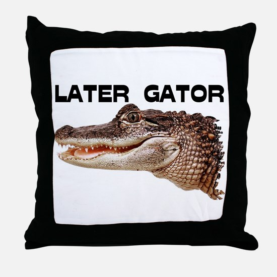 GATOR Throw Pillow