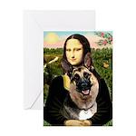 Mona's G-Shepherd Greeting Card