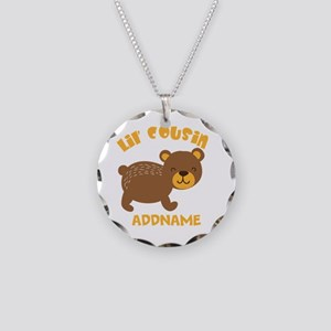 Personalized Name Little Cou Necklace Circle Charm