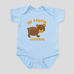 Personalized Name Little Cousin Infant Bodysuit