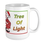 The Masonic Christmas Tree Large Mug