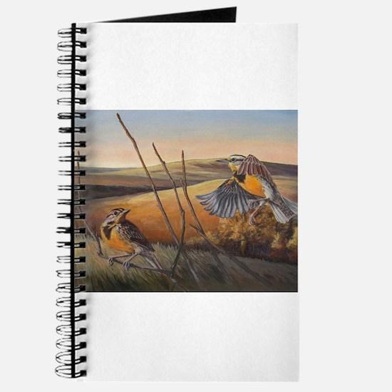 Cute Meadowlark Journal