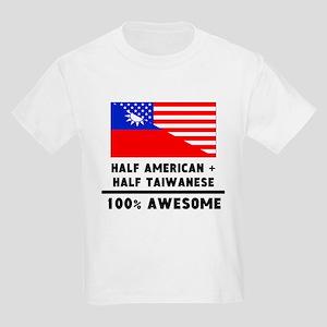 Half American Plus Half Taiwanese T-Shirt