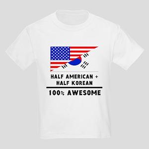 Half American Plus Half Korean T-Shirt