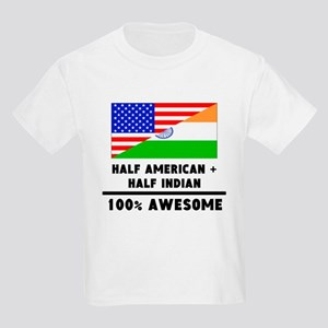Half American Plus Half Indian T-Shirt