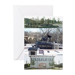 Albany Riverfront Attractions Greeting Cards