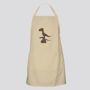 Two-In-One Bigfoot And T-Rex Apron