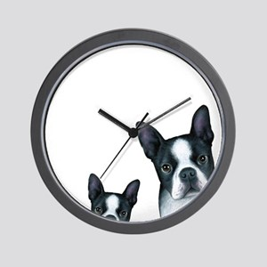 Dog 128 Boston Terrier Wall Clock