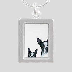 Dog 128 Boston Terrier Necklaces