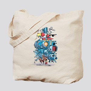 GOTG Rocket Drawing Tote Bag
