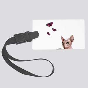 cat 578 Large Luggage Tag