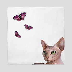 cat 578 Queen Duvet