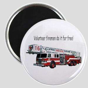 Firemen Make House Calls Magnet
