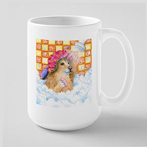 Dog 129 Funny Golden Retriever Mugs