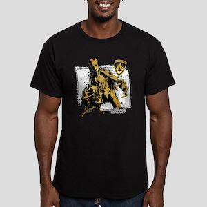 GOTG Rocket Groot Grun Men's Fitted T-Shirt (dark)