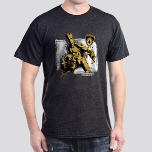 GOTG Rocket Groot Grunge Dark T-Shirt