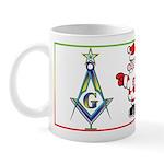 The Masonic Christmas Tree Mug