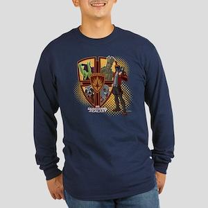 GOTG Team Emblem Long Sleeve Dark T-Shirt