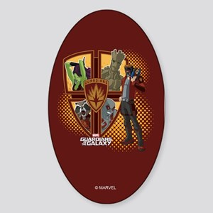 GOTG Team Emblem Sticker (Oval)